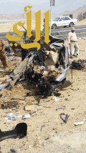 مصرع شخصين بحادث سير على طريق رجال ألمع بمنطقة عسير
