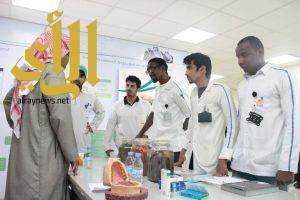 الكلية التقنية بنجران تستضيف نقطة الفحص والإستشارة الصحية