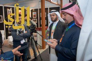 """نادي """"وصل"""" الإعلامي بجامعة الباحة يواصل مشاركته في فعاليات ملتقى ألوان السعودية"""
