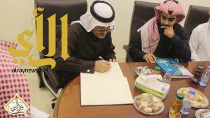 محافظ محافظة بني حسن في زيارة تفقدية لخيرية وتنمية قرن ظبي