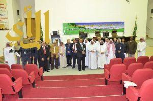 ورشة عمل عن برنامج أهلية العلاج بمستشفى الملك فهد بالباحة