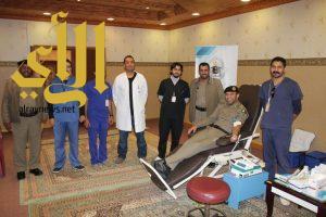 """"""" ال هادي """" يستقبل مدير العلاقات العامة لمستشفى الملك فهد بالباحة"""