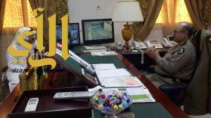محافظ بني حسن يلتقي مدير شرطة منطقة الباحة بمقر مكتبة