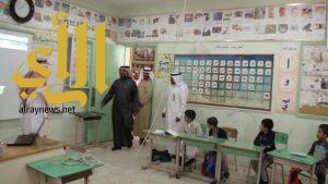 زيارة وكيل الوزارة للتعليم الدكتور نياف الجابري تطلعات وطموح بمحافظة رجال ألمع
