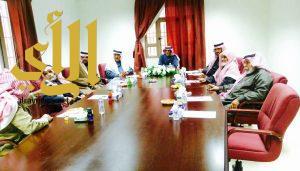 رئيس مركز برحرح يلتقي أعضاء لجنة اصلاح ذات البين ببرحرح
