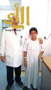 إنقاذ حياة طفل أصيب بطلق ناري بنجران