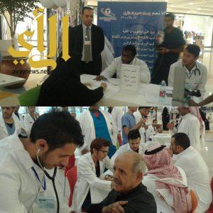 """300 زائر يحدد نوع فصيلة دمه ضمن حملة """"انيميا فقر الدم"""" بالمدينة المنورة"""