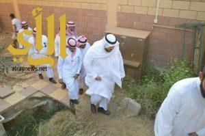 وكيل وزارة التعليم للمباني يقف على وضع مجمع مدارس الاثلة للبنات بصبيا