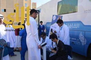 الكوثر الصحية تشارك في حملة التوعية الصحية بأضرار السمنة بجامعة الملك خالد