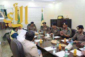 مدير عام مدني مكة يجتمع بمسؤولي السلامة بشركة جبل عمر
