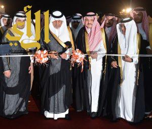 الأمير خالد الفيصل يطلق فعاليات معرض جدة الدولي للكتاب في نسخته الثانية