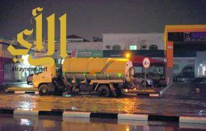 الخبر.. 43 صهريجا و34 مضخة لسحب مياه الأمطار