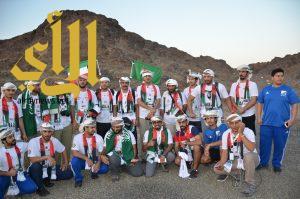 (هايكنج السعودية) يشارك في احتفالات الامارات الشقيقة باليوم الوطني 45