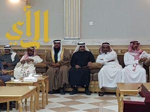 رئيس مركز خثعم يرعى حفل افتتاح لجنة التنميه الإجتماعيه