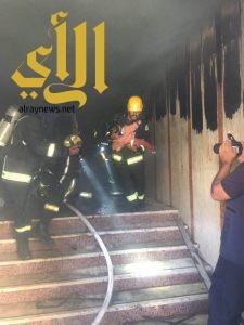 مدني الرياض يخمد حريقا شب في بناية سكنية دون إصابات أو وفيات
