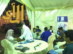 الكوثر تسير قافلة سمو أمير منطقة عسير الصحية الخيرية إلى محافظة البرك