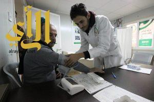 العيادات التخصصية السعودية في مخيم الزعتري تتعامل مع (2548) مراجع من الاشقاء السوريين خلال الاسبوع 208