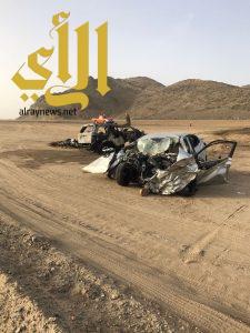 مصرع خمسة أشخاص بحادث مروري مروع بمحافظة بيشة