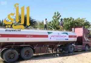 مركز الملك سلمان للإغاثة يدشن مشروع المياه بصحراء حضرموت