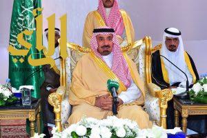 أمير نجران ينقل تحيات القيادة لأهالي بدر الجنوب ويدشن مشروعات تنموية