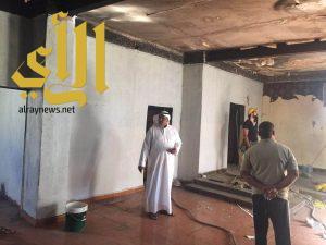 جمعية البر الخيرية بأحد المسارحة تباشر ترميم منزل أسرة سجين