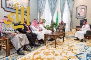 وكيل إمارة الباحة يستقبل الرئيس التنفيذي لشركة مطاعم البيك
