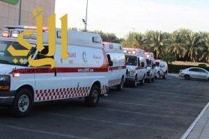 الهلال الأحمر بالمدينة المنورة يباشر اكثر من 15 الف بلاغ خلال الربع الاول لعام ١٤٣٨ هـ