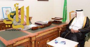 أمير الباحة يستقبل مدير عام فرع صندوق التنمية الزراعية بالمنطقة