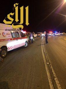 إحتجاز شخصين في منحدرات عقبة الباحة