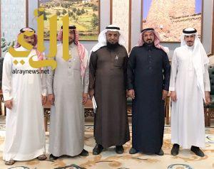 وكيل إمارة الباحة يستقبل رئيس الجمعية السعودية للجودة بالمنطقة