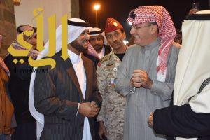 الأمير خالد بن عبدالله يزور قرية الباحة التراثية بالجنادرية