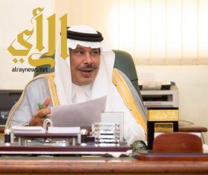أمير الباحة يستقبل عدداً من المواطنين بمحافظة قلوة