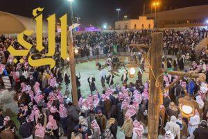 """""""قرية الباحة التراثية بالجنادرية"""" تشهد كثافة في الزوار"""