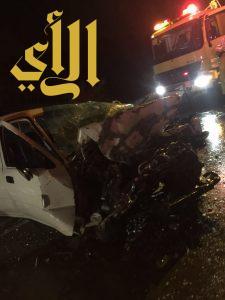 مصرع شخص وإصابة ستة آخرين بحوادث متفرقة بمنطقة الباحة