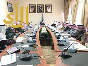 وكيل إمارة الباحة يترأس إجتماع مؤشرات قياس أداء محافظات
