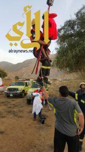 مدني بارق ينقذ طفل عربي من الغرق
