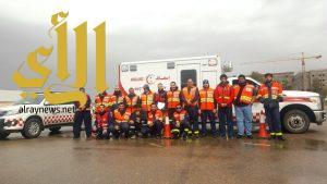 الهلال الأحمر بالجوف يقيم برنامج القيادة الآمنة لمركبة الإسعاف