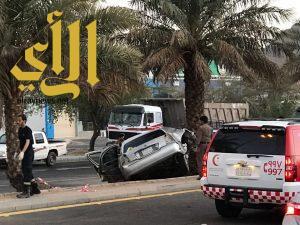 مصرع شخصين وإصابة آخرين بحادث سير على طريق الهجرة بالمدينة المنورة