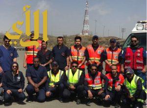 الهلال الأحمر بعسير ينهي المرحلة الثالثة لبرنامج القيادة الآمنة لمركبات الإسعاف