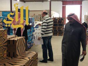 بلدية محافظة حفر الباطن ترصد 230 مخالفة وتغلق 15 محل ضمن جولة ميدانية