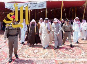 أمير الباحة يعزي أسرة آل مهدي في وفاة فقيدهم