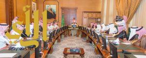 أمير منطقة الباحة يرأس اجتماع رؤساء بلديات المحافظات