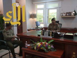 اجتماع تنسيقي بين مديرية السجون بمنطقة عسير ومديرية جوازات منطقة عسير