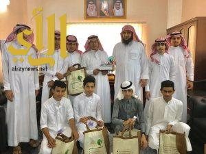 الفريق التطوعي بثانوية الملك فهد في زيارة لجمعية رفق