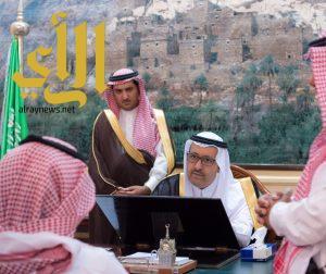 أمير منطقة الباحة يستقبل عدد من المراجعين والمواطنين