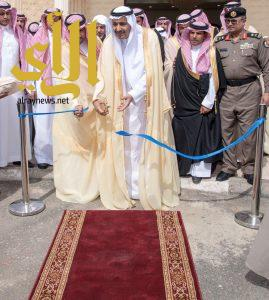 سمو أمير الباحة يفتتح القافلة التعريفية بمعرض الملك عبدالله