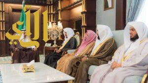 حسام بن سعود يستقبل رئيس كتابة عدل منطقة الباحة