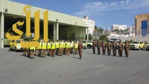 """اللواء السبيعي يدشن حملة """" نحو صيف آمن"""" بعسير"""