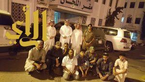لجنة التوطين بعسير تقبض على 8 مخالفين وأحالتهم للترحيل