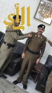 """حسين عسيري الى """" رتبة """"رئيس رقباء"""""""